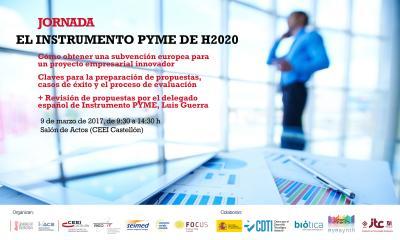 """Jornada """"El Instrumento Pyme de H2020"""""""
