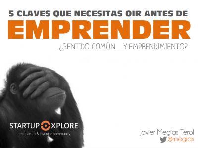 Ponencia de Javier Megías en presentación Informe GEM CV 2015