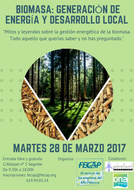 """Jornada """"Biomasa: Generación de energía y Desarrollo local"""""""