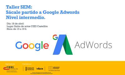 Taller SEM Google Adwords 18.04.2017