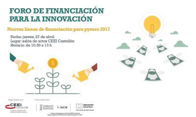 Foro financiación innovación 27.04.17
