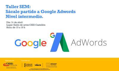 Taller SEM Google Adwords 24.04.2017