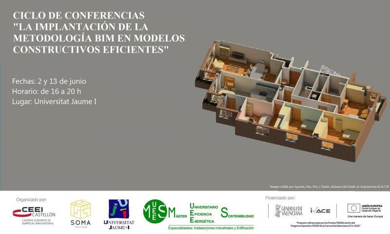 """Conferencias """"La implantación de la metodología BIM en modelos constructivos eficientes"""""""