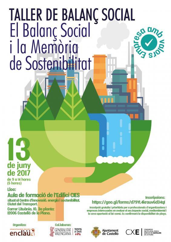 Taller BALANCE SOCIAL y MEMORIAS DE SOSTENIBILIDAD (ENCLAU)