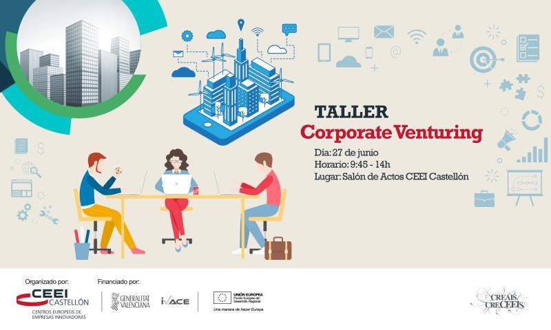"Invitación al taller ""Corporate Venturing"""