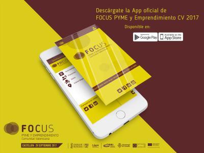 L'App oficial de Focus Pime i Emprenedoria CV 2017 és de gran utilitat per als assistents a l'esdeveniment.
