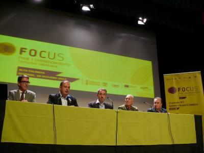 Rueda de prensa de presentación Focus Pyme Alto Palancia 2017