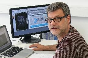 Juanjo López trabajando en el CEEI Castellón