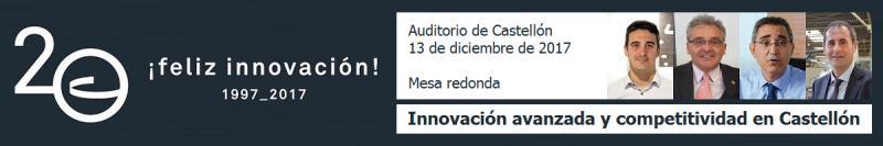 Recordatorio: mesa redonda 20 aniversario CEEI Castellón