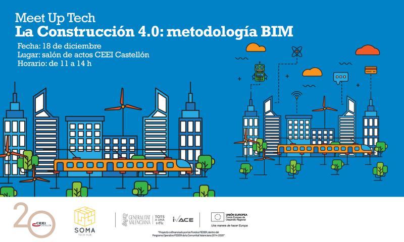 'La construcción 4.0: metodología BIM' con SOMA Tech Hub