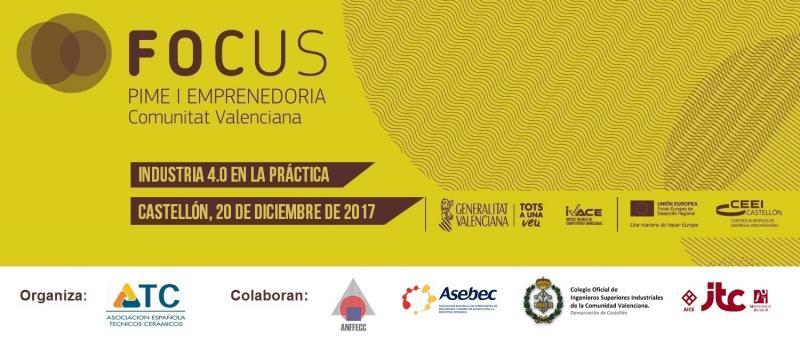 """Invitación #FocusPyme """"Industria 4.0 en la práctica"""" (20 diciembre)"""