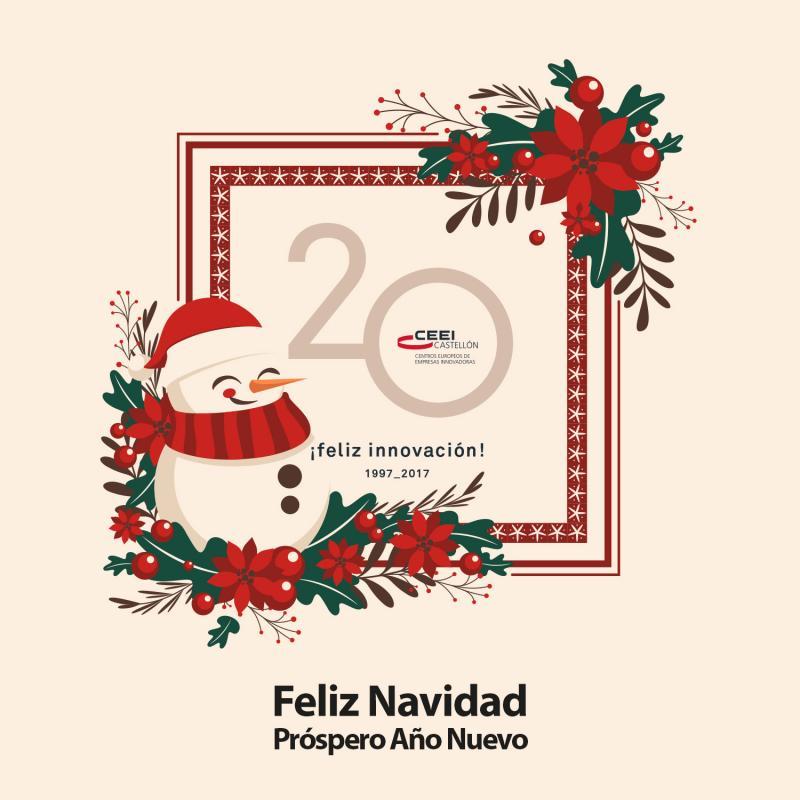 Feliz Navidad y próspero 2018, con nuestros mejores deseos