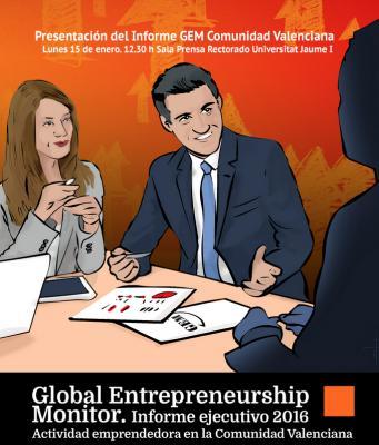Presentación del Informe anual Global Entrepreneurship Monitor