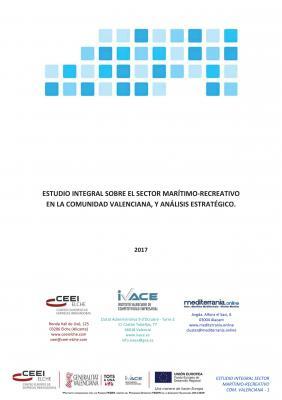 Estudio integral sobre el sector marítimo‐recreativo en la Comunidad Valenciana