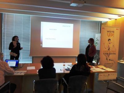 Comité de Valoración programa moveup! 2017. Inma Rovira y Bárbara Godoy - BI´S arquitectur