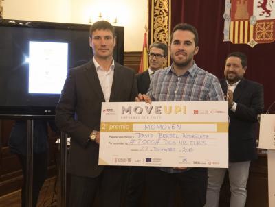 Acto entrega de premios y diplomas Move Up! 2017. Segundo premio - MOMOVEN -