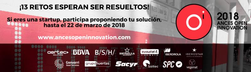 ANCES Open Innovation presenta 13 retos a la innovación tecnológica