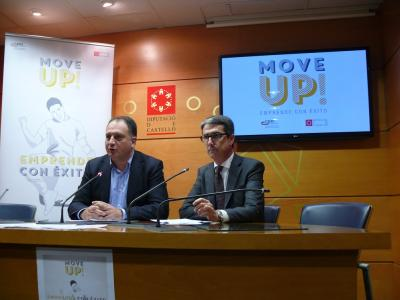Salvador Aguilella y Justo Vellón, en la rueda de prensa