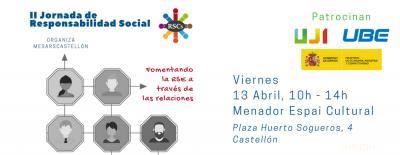 """II Jornadas de Responsabilidad Social """"Fomentando la RSE a través de las relaciones"""""""