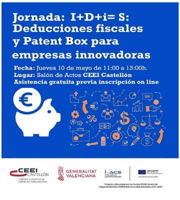 Jornada I+D+i=S Deducciones fiscales y Patent Box para empresas innovadoras