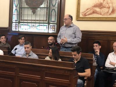 Acto inauguración programa MOVE UP! 2018. Felipe Nicolau