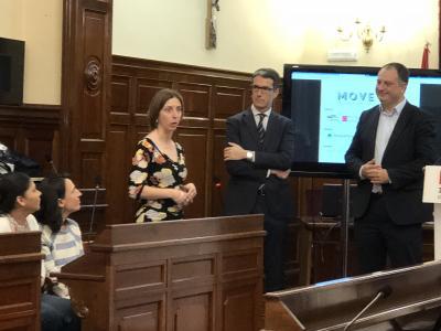 Acto inauguración programa MOVE UP! 2018. Maira Ariño