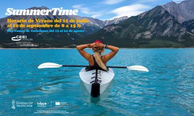 Horario de verano y vacaciones 2018