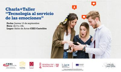 """Charla + Taller: """"Tecnología al servicio de las emociones"""""""