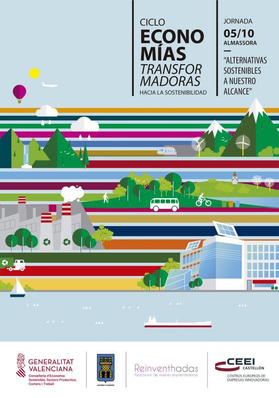 """Invitación jornada:""""Alternativas sostenibles a nuestro alcance"""", 5 de octubre"""