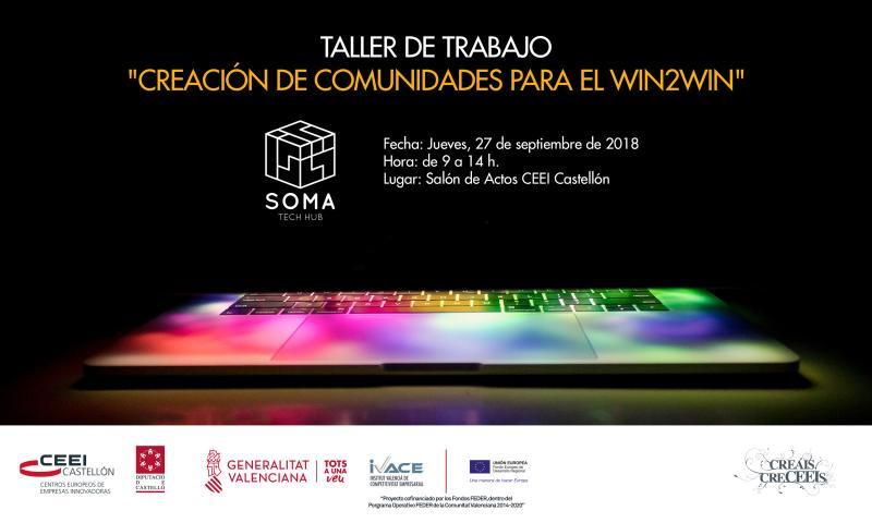 Invitación Jornada Taller: Creación de comunidades para el Win to Win, 27 sept