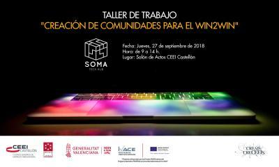 Jornada Taller: Creación de comunidades para el Win to Win