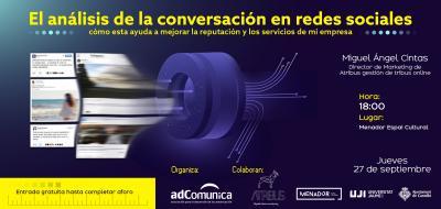 Jornada adComunica redes sociales 27.09.2018
