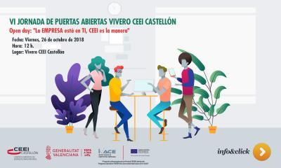 VI Jornada de Puertas abiertas Vivero CEEI Castellón.