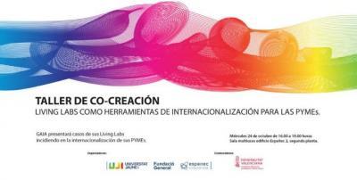 Taller de co-creación: Living Labs como herramientas de internacionalización para pymes.
