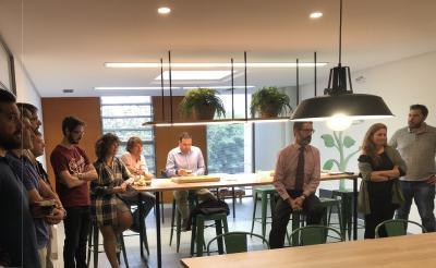 Los viveristas de CEEI Castellón comparten experiencias y éxitos
