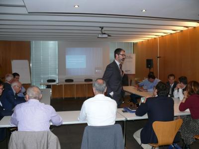 Los inversores de Órbita conocen opciones de innovación conjunta startups-empresas