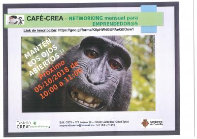 Cartel CAFE-CREA