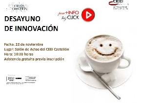 Desayuno de innovación CEEI Castellón
