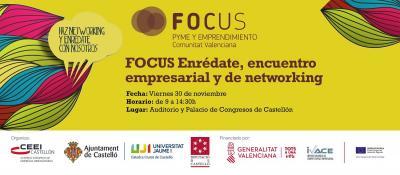 #FocusPyme Enrédate, encuentro empresarial y de networking