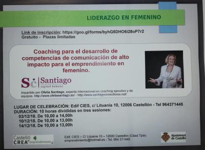 Coaching comunicacion en femenino