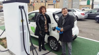 Nuevo punto de recarga para vehículos eléctricos