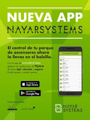 Nayar Systems nueva app:permite gestionar las instalaciones de forma ágil,cómoda y segura