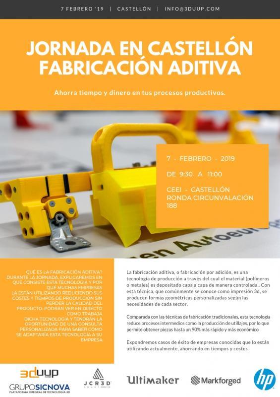 Jornada: Fabricación aditiva