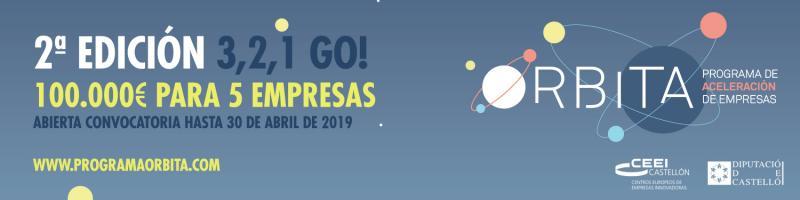 Abierta convocatoria: 2ªedición Programa Órbita ¡100.000€!