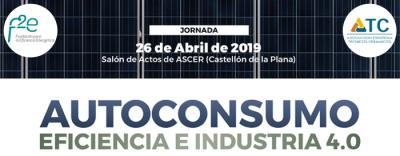 Jornada autoconsumo, eficiencia e industria 4.0