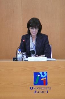 Acto Institucional Universitat Jaume I. Enrédate Castellón 2010
