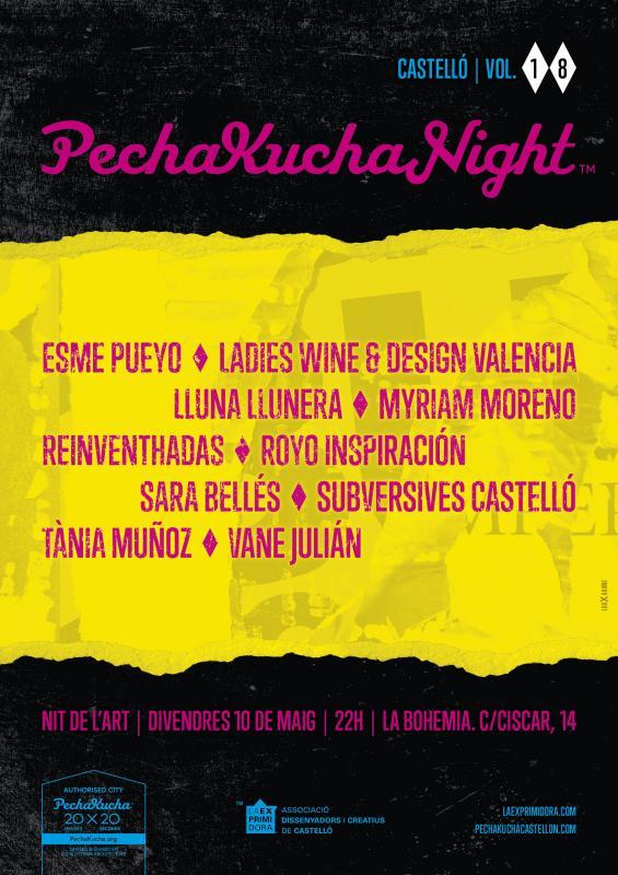 Pechakucha night Vol.18