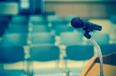 Sala de conferencias vacia