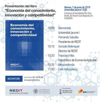 """Presentación del libro """"Economía del conocimiento, innovación y competitividad"""""""