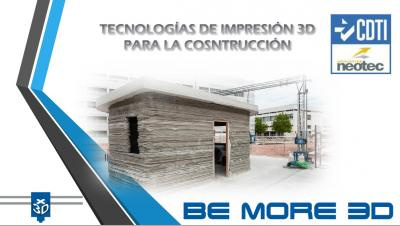 Experiencia de empresas valencianas: BE MORE 3D